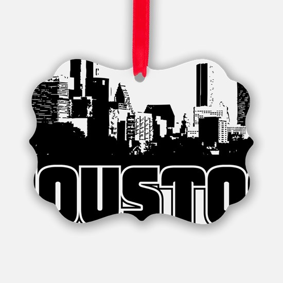 Houston Skyline Ornament
