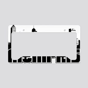 Memphis Skyline License Plate Holder
