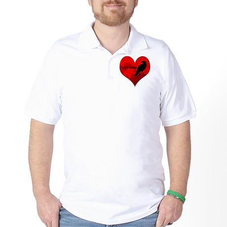 HEART_Crow Golf Shirt