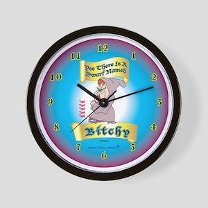 Bitchy_wallclock3 Wall Clock