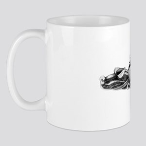 briscoe white letters Mug