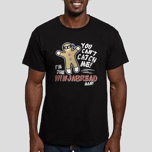 Ninjabread Man Men's Fitted T-Shirt (dark)