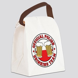 Official Polish Drinking Team Shi Canvas Lunch Bag