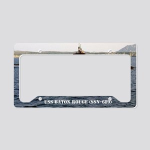 brouge notecard License Plate Holder