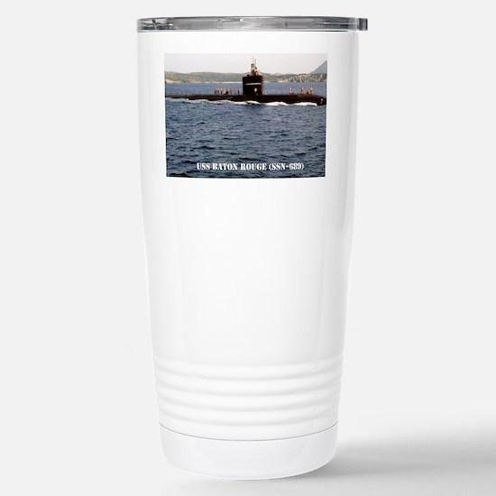 brouge notecard Stainless Steel Travel Mug