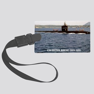 brouge notecard Large Luggage Tag