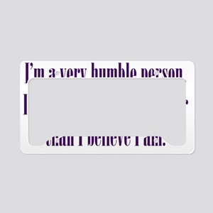 humble_btle1 License Plate Holder
