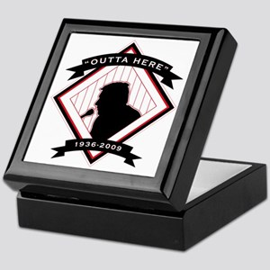 Harry Kalas - back Keepsake Box