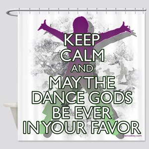 The Dance Gods Dancer Shower Curtain