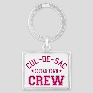 cougar-town-cul-de-sac-crew Landscape Keychain