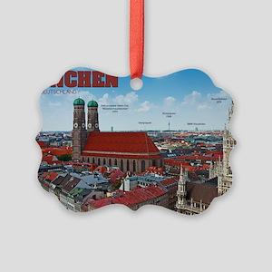Munich Cityscape Picture Ornament