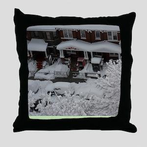 GOT_SNOW_Winter_2011_Cypress_Hills_Ne Throw Pillow