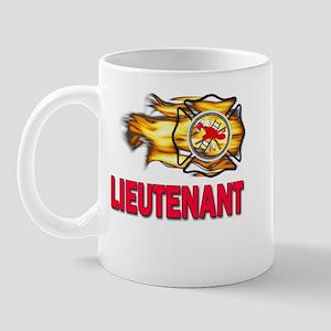Fire Department Lieutenant Mug