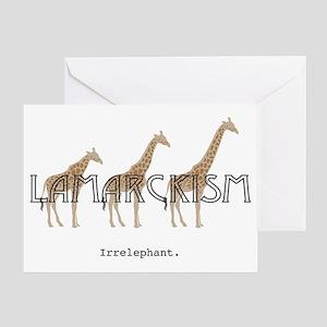 Lamarck Greeting Card