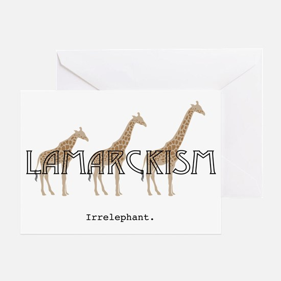 Lamarck Greeting Card