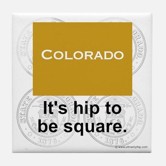 Colorado Tile Coaster