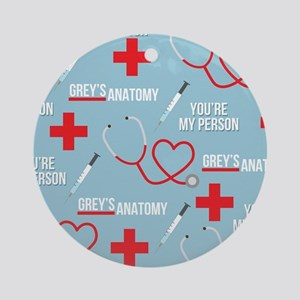 Grey's You're My Person Round Ornament