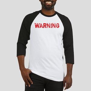 attitude_warning2 Baseball Jersey