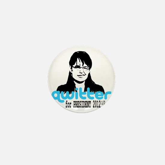QwitterTee Mini Button
