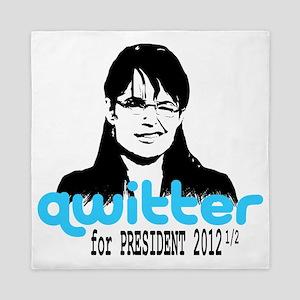 QwitterTee Queen Duvet