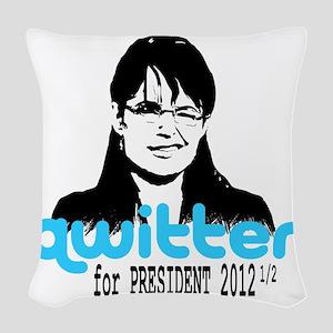QwitterTee Woven Throw Pillow