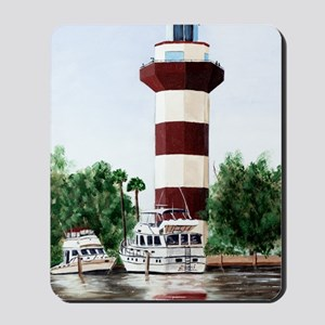 harbor light tall Mousepad