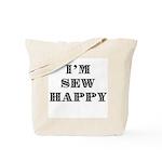 Sew Happy Tote Bag