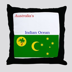 2000px-Flag_of_the_Cocos_%28Keeling%2 Throw Pillow