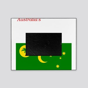 2000px-Flag_of_the_Cocos_%28Keeling% Picture Frame