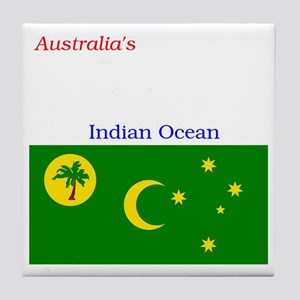 2000px-Flag_of_the_Cocos_%28Keeling%2 Tile Coaster
