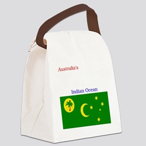 2000px-Flag_of_the_Cocos_%28Keeli Canvas Lunch Bag