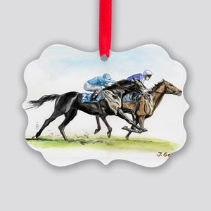 racewtrcolor Picture Ornament