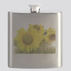 sunflowerblack Flask