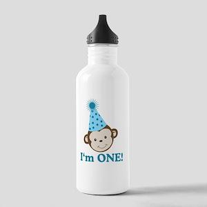 Im ONE Boy Monkey Stainless Water Bottle 1.0L