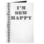 Sew Happy Journal
