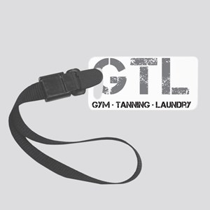 GTL-Initials-WhiteT Small Luggage Tag