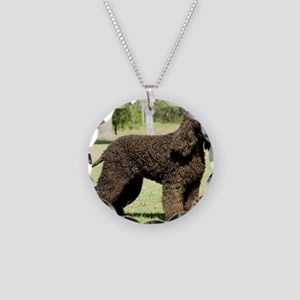 Irish Water Spaniel 9R032D-2 Necklace Circle Charm