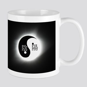 Total Eclipse 2017 Yin Yang Mugs
