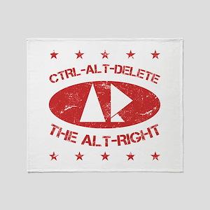 Anti Alt Right Throw Blanket