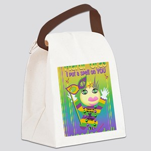 MGvoodooDollCpt Canvas Lunch Bag