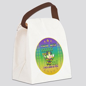 MGvoodooDollcRtr Canvas Lunch Bag