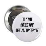 """Sew Happy 2.25"""" Button (10 pack)"""