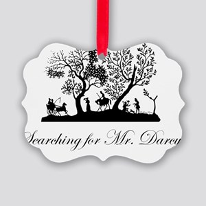 Searching for Darcy Picture Ornament