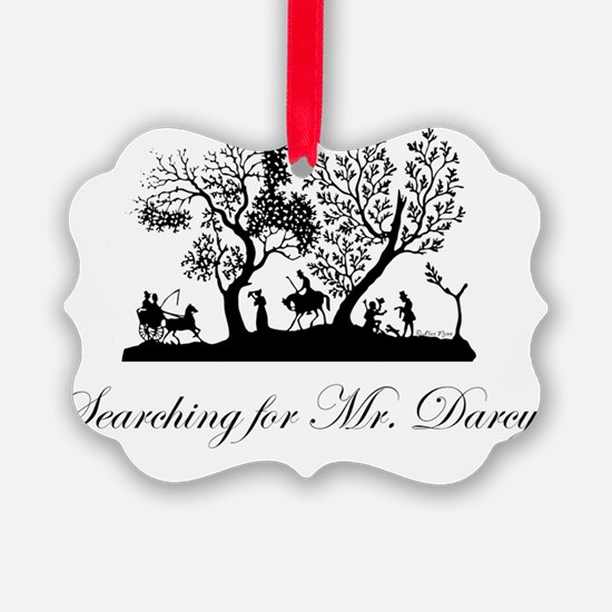 Searching for Darcy Ornament