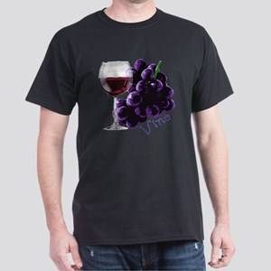 vino_10by10 Dark T-Shirt