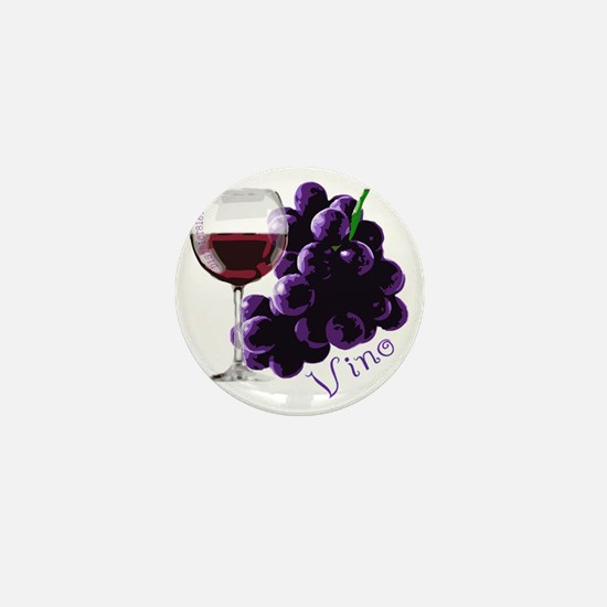 vino_10by10 Mini Button