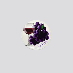 vino_10by10 Mini Button