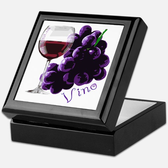 vino_10by10 Keepsake Box