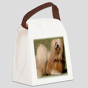 Lhasa Apso 9Y394D-079 Canvas Lunch Bag