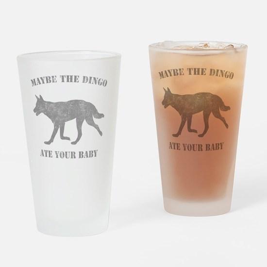 dingog Drinking Glass